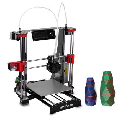 Just US$209.99, buy ZONESTAR M8R2 Mixed Color Printing DIY 3D Printer Kit online shopping at GearBest.com Mobile.