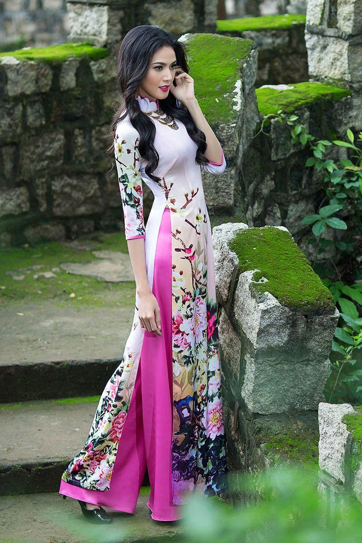 BST Chốn Xưa - Thái Tuấn - Thời trang áo dài