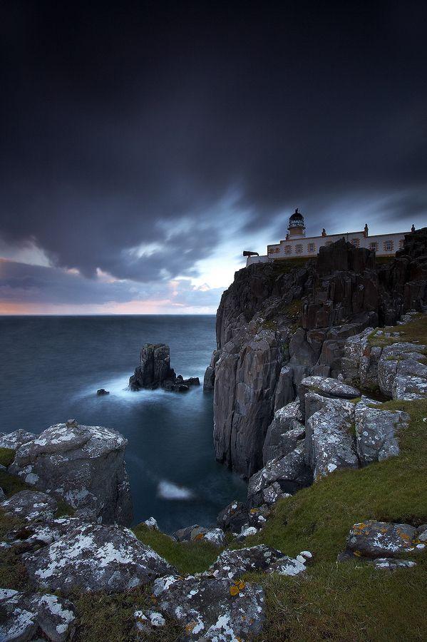 Neist Poiint Lighthouse, Isle of Skye, Scotland. <3