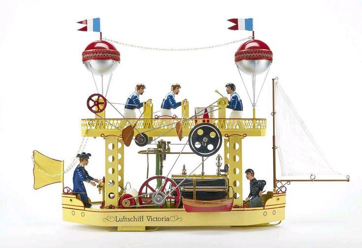 Tucher & Walther T 751 Live Steam Engine Tin Toy Vapore Vapeur Dampfmaschine