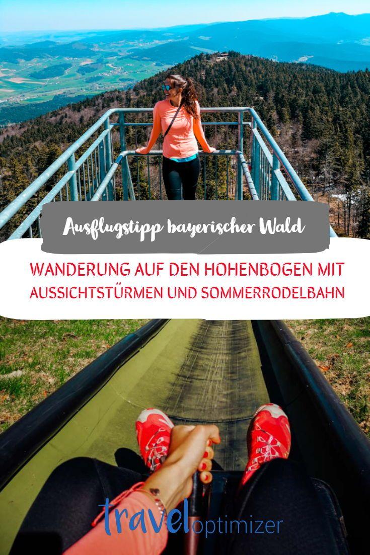 Hoher Bogen Hohenbogen Nato Turme Wandern Im Bayerischen Wald Wandern Bayerischer Wald Ausflug Urlaub Bayern