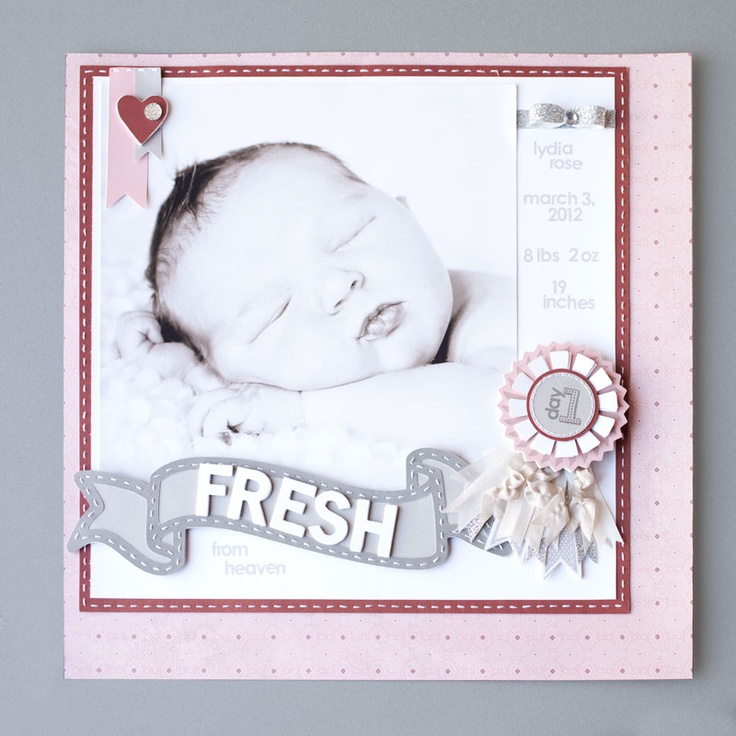 How To Create A Medallion For Your Scrapbook Pages Using