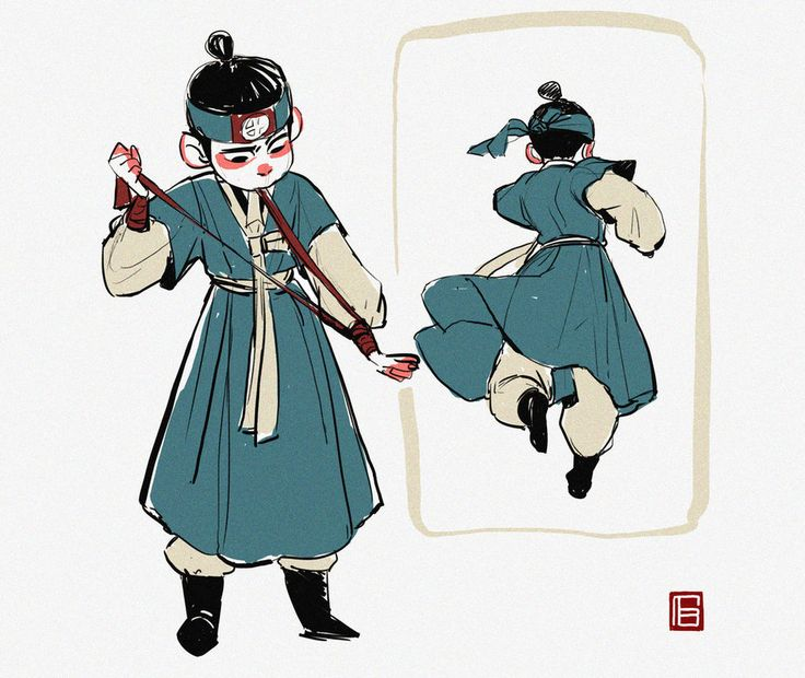 Character design by TBchoi on DeviantArt