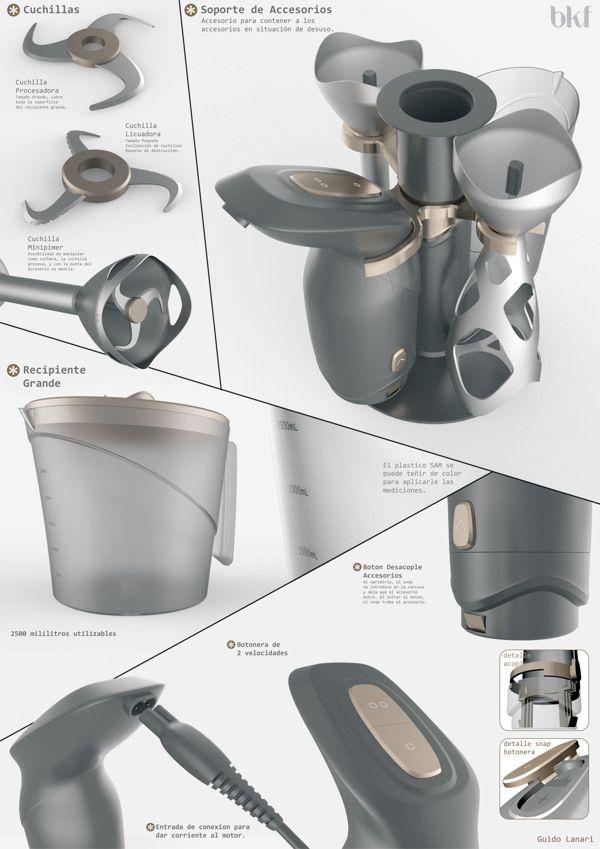 Kitchen Appliances by Guido Lanari, via Behance