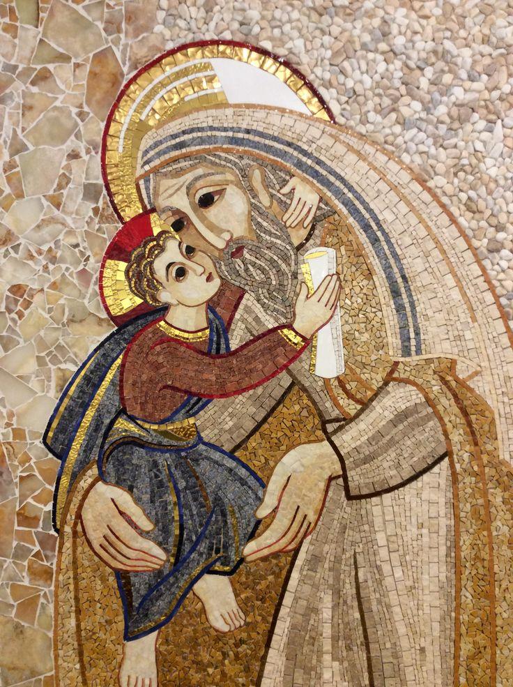 Jesús y el anciano Simeón