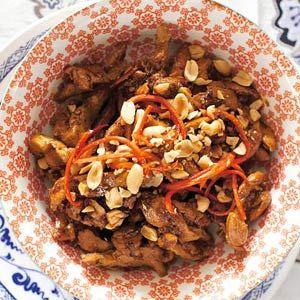 Indische rijsttafel: Kip ketjap (Ayam ketjap)