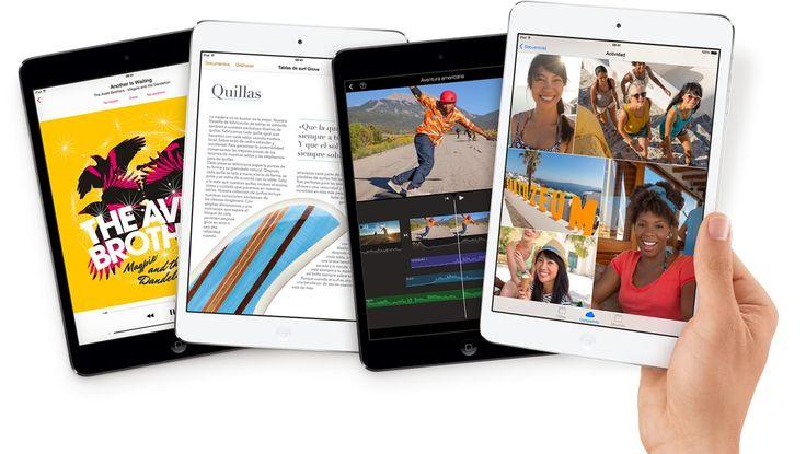 Ipad mini retina, ya disponible en Apple Store