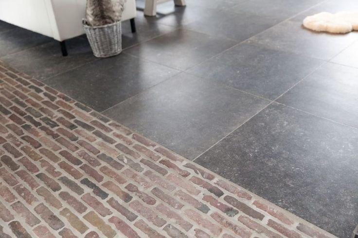 Gebakken waaltjes voor binnen in 2cm dik gezaagd, voor een nostalgische of landelijke uitstraling keuken of hal, exclusief bij Steenbergen Binnentegels
