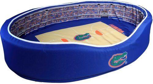 Florida Gators Basketball Stadium Pet Bed