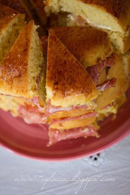 Panettone gastronomico by Sery75,  ricetta bimby