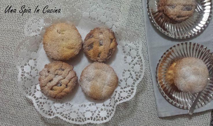 Crostatine con Nutella - frolla al cocco
