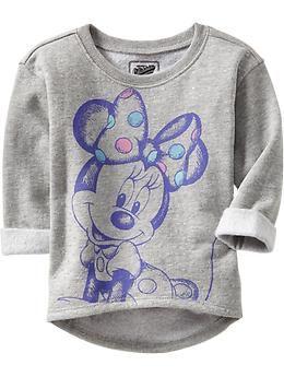 Disney© Minnie Mouse Fleece Sweatshirts for Baby | Old Navy $22.94