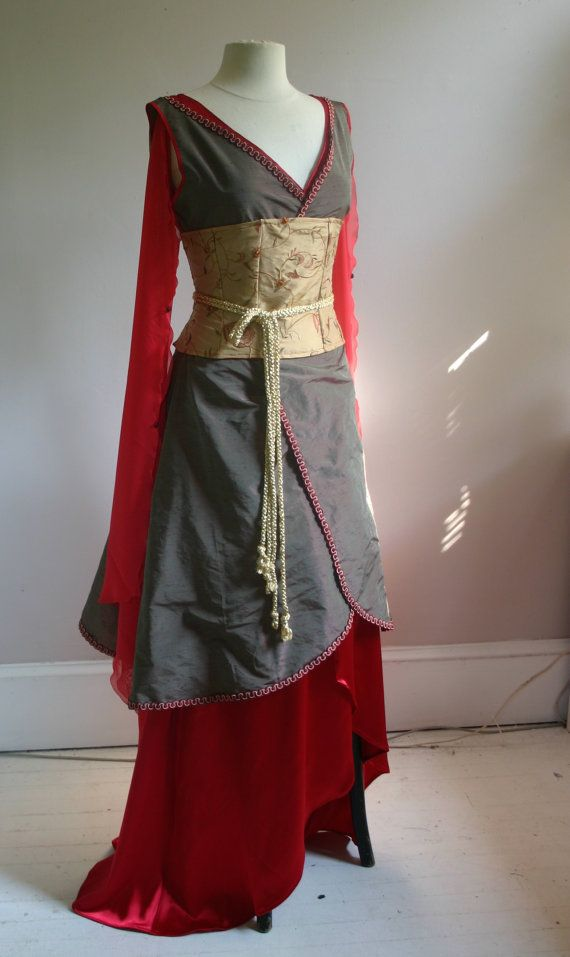 Firefly inspired Inara dress Cosplay or Wedding dress by lorigami