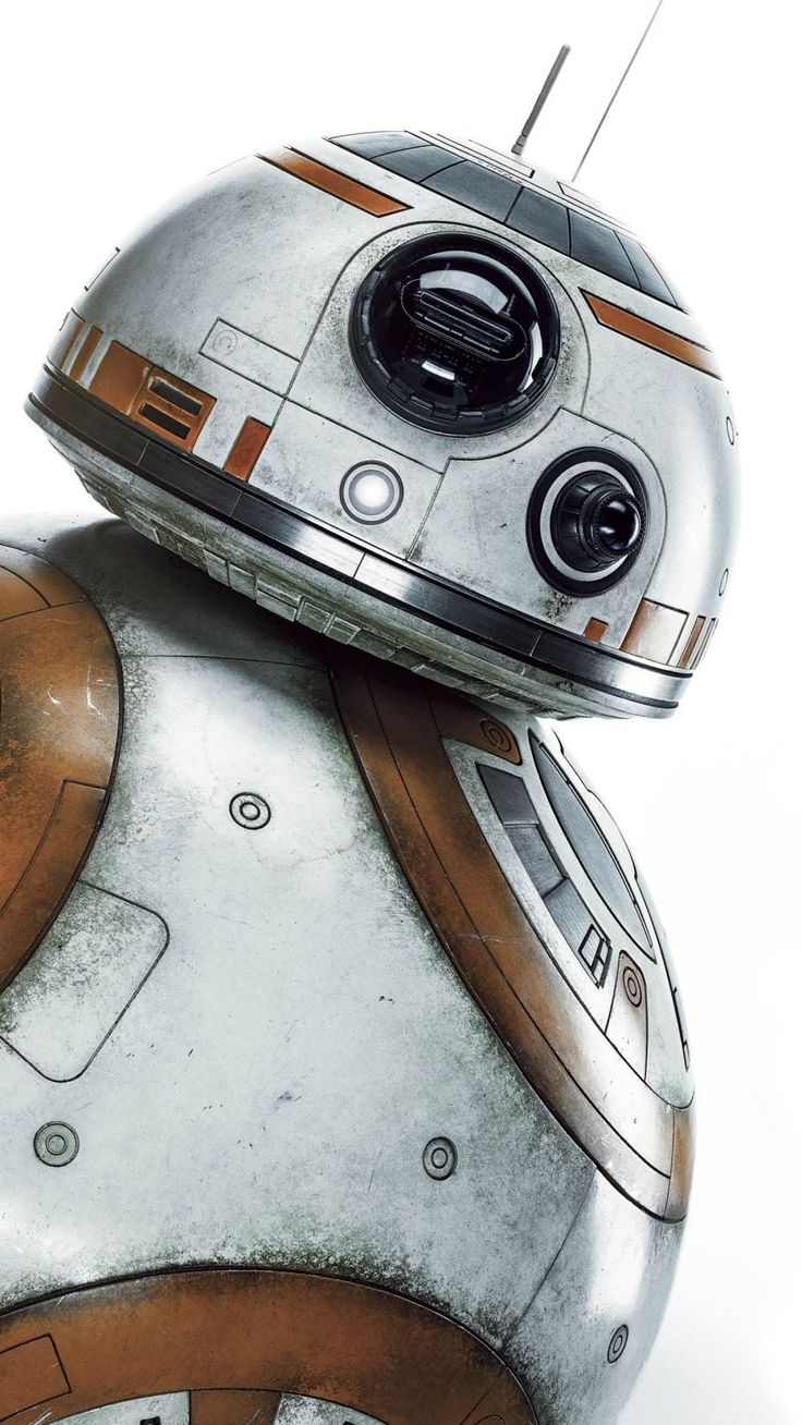 BB 8 Droid Star Wars Movie Smartphone Wallpaper and Lockscreen HD Check more at ...