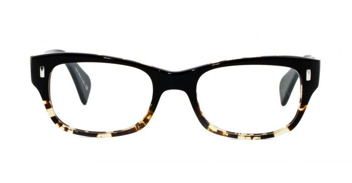 Wacks by Oliver Peoples. My new glasses.