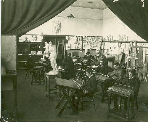 1920s Art Class