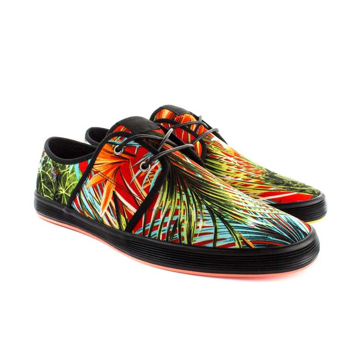Buy Now: http://www.baselondon.com/spam-2-aloha-red Men's Fashion. Fish 'n' Chips Shoes. Spring Summer 16. Men's Shoes. Menswear. Seasonal Footwear. Style: Spam 2 Aloha Red