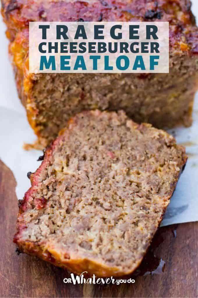 Traeger Cheeseburger Meatloaf Recipe Cheeseburger Meatloaf Recipes Pellet Grill Recipes