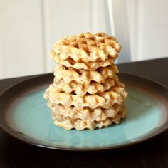 No-Egg Waffles (AIP, Paleo, Vegan) made with @ottosnaturals  Cassava Flour | Don't Eat the Spatula