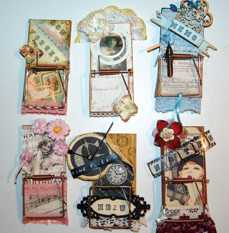 altered mouse traps make great gifts | mouse trap art