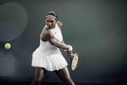 Serena's Wimbledon 2016 Nike dress in White