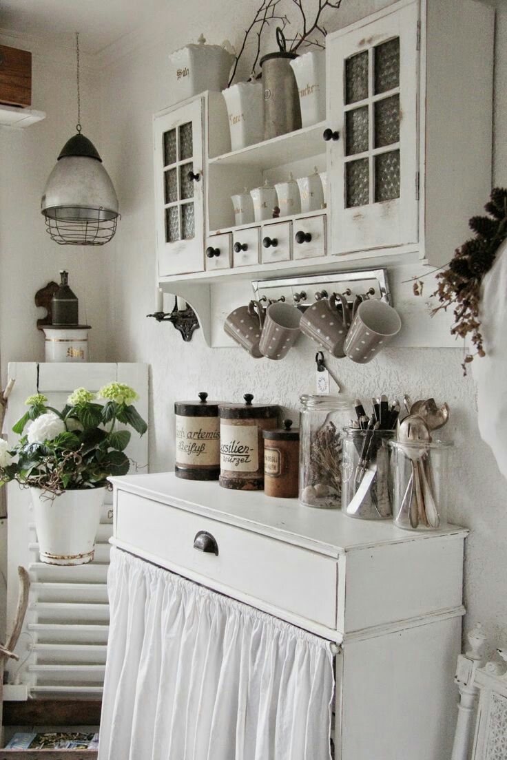 1916 Best Shabby Chic Kitchens Images On Pinterest