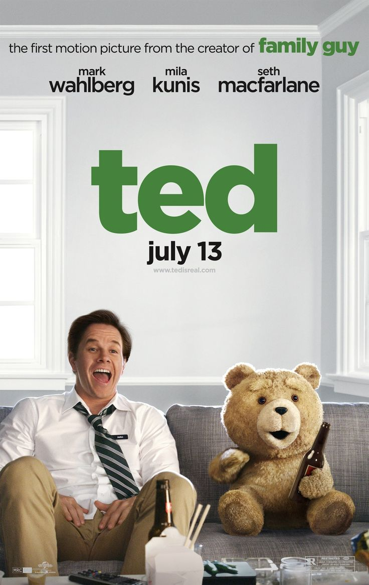 "Ted: ***** A+; My wife (who laughed uncontrollably) said at the end, ""we'll that was a really weird movie."" By that she must mean it's the best thing ever. From the Jewish kid to the Darth Vader Action Figure Case, from the brilliant use of Flash Gordon to the subtle Indiana Jones theme use...for any kid worth his salt in 1985...this film is for you!"