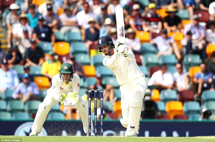 James Vince stabilised the England innings following the early dismissal of Alastair Cook, hitting a measured 83