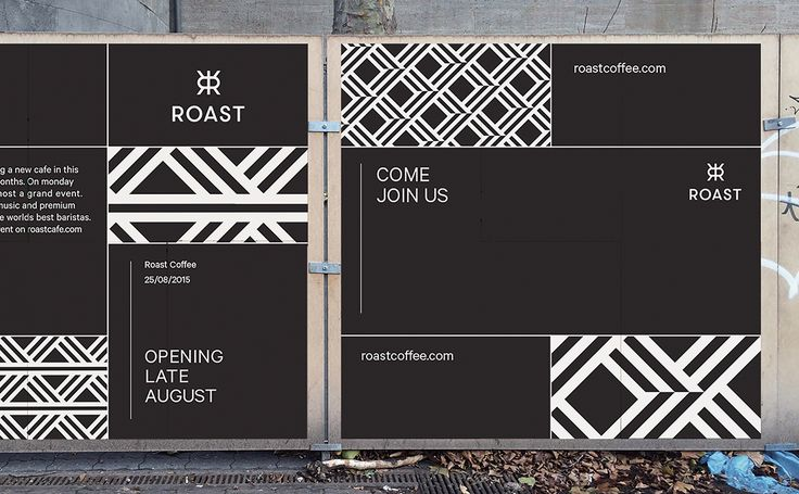 BRANDING / IDENTITY / DESIGN: visualgraphc: Roast Coffee, Erik Berger Vaage