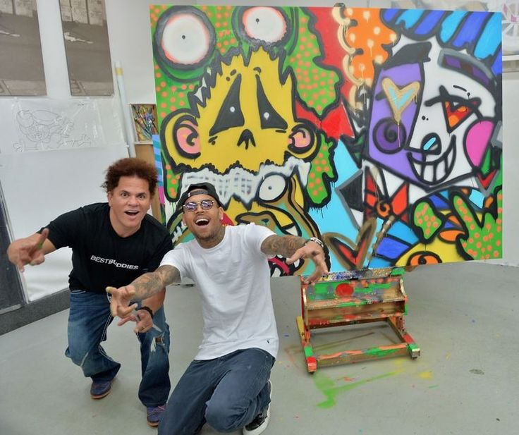 Chris Brown art | Chris Brown Art for Auction _130927140249