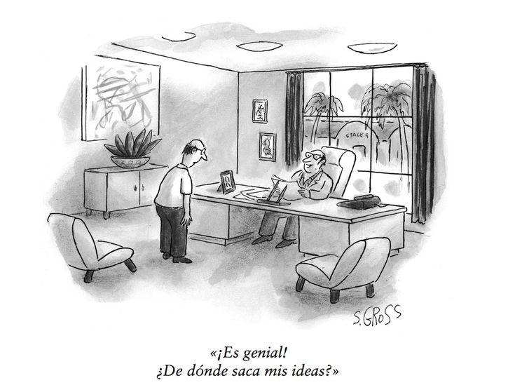 Humor en el trabajo: 7 viñetas de La oficina en The New Yorker