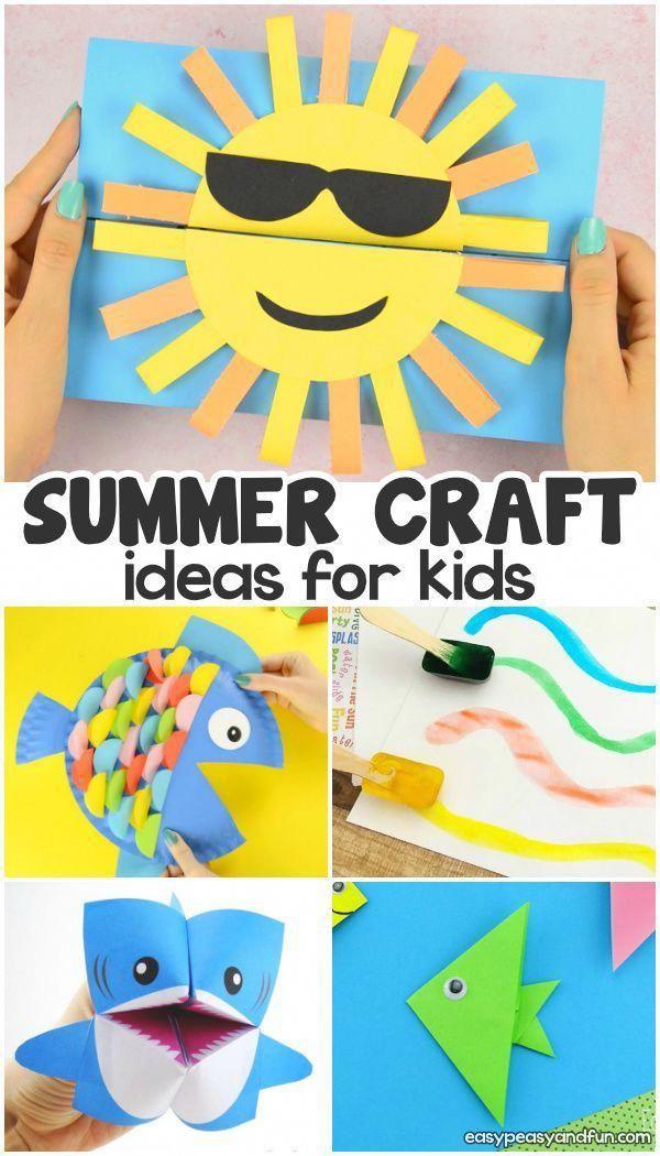 Summer Crafts Card Craft Pinterest Summer Crafts Crafts And