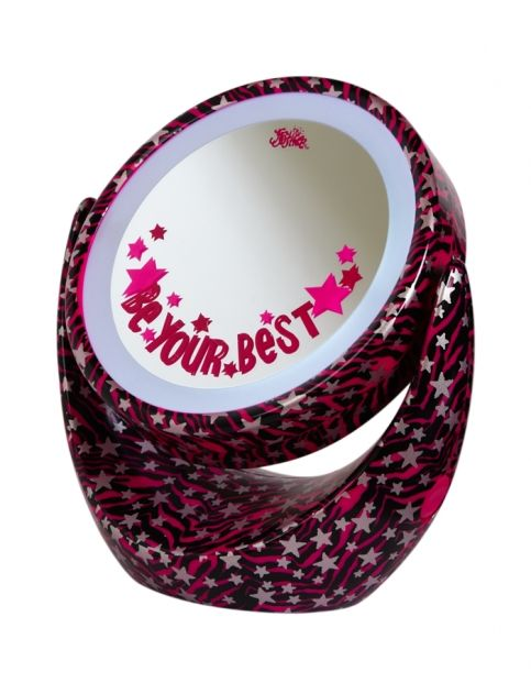 Zebra Light Up Mirror | Girls Spa Accessories Beauty | Shop Justice