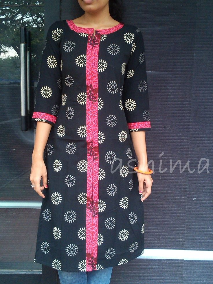 Printed Cotton Kurta-Code:0409150 Price INR:890/- All sizes available. Free shipping to all courier destinations in India. Online payment through PayUMoney / PayPal