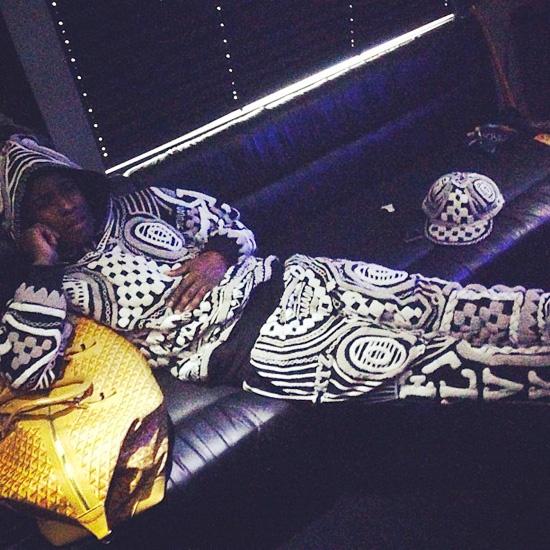 Loving our boy A$AP Rocky in custom KTZ http://style.mtv.com/2013/04/29/asap-rocky-ktz-diamonds-tour/