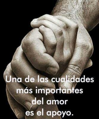 El apoyo, importante en el amor. El amor debe ser sin fingimiento. Todo lo que hagamos sea de buena voluntad.