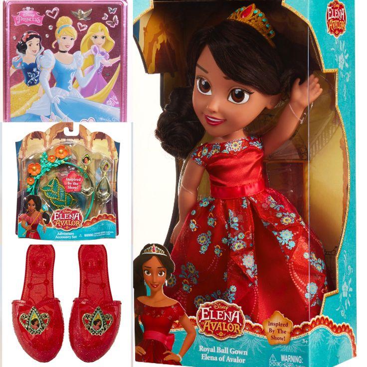 Disney merchandise  http://momagain40.blogspot.com/2017/11/festive-giveaway-with-bring-disney-home.html #DisneyPrincesses  #ElenaofAvalor  #ElenaofAvalorToddlerDoll #elenaofavalorshoes