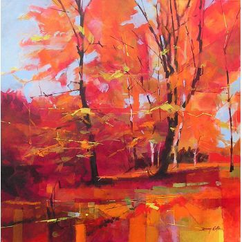 Doug Eaton - Edge End Woods - Edge End  Forest of Dean Artist