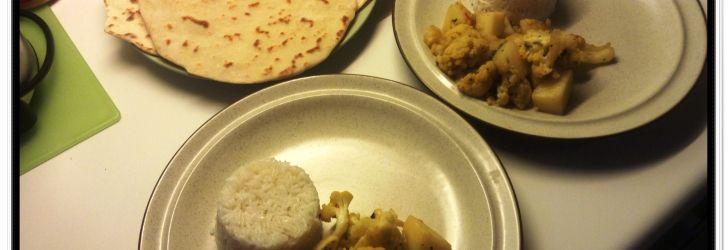 Aloo Gobi 2 – curry de batata e couve-flor indiano