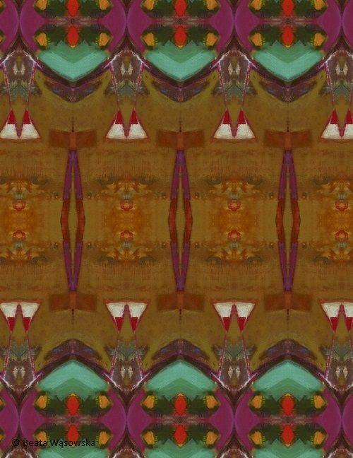 Pattern design, Beata Wąsowska, digrafia