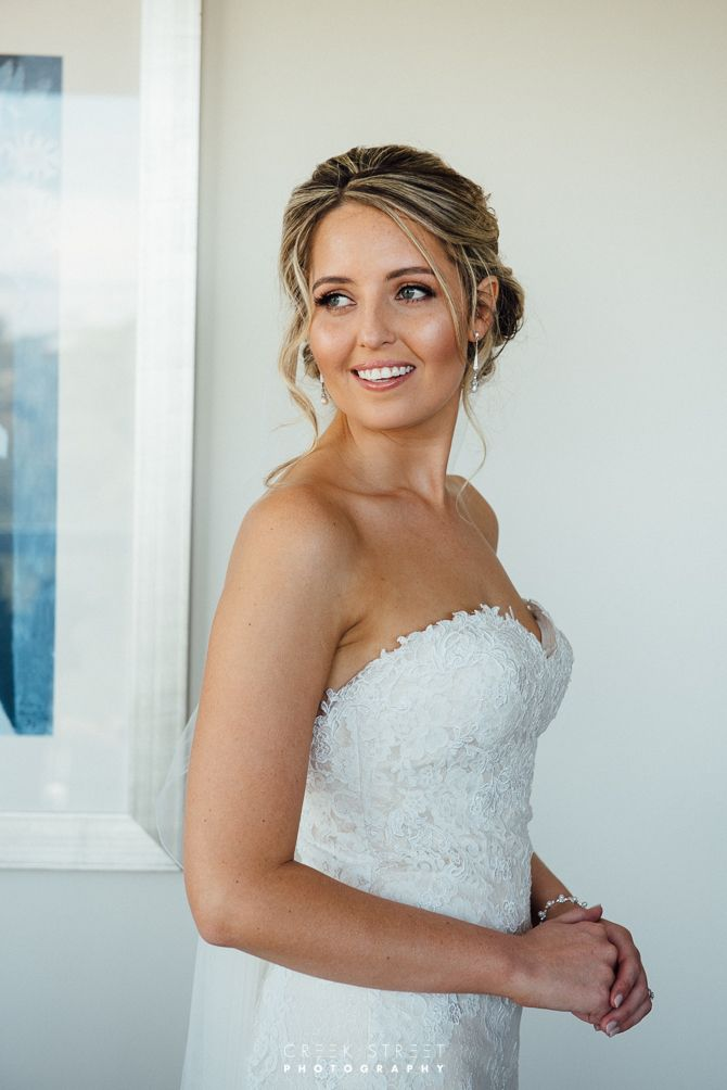 Bride getting ready - for wedding #bride #beautiful #wedding