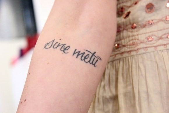 Latin for without fear saw this a while ago on fp blog for Latin tattoo fonts