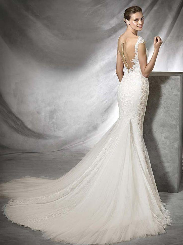 52 besten Low Back Wedding Dresses Bilder auf Pinterest ...