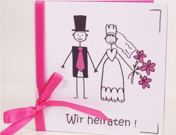 30 besten Hochzeitseinladungen aus Kraftpapier Bilder auf