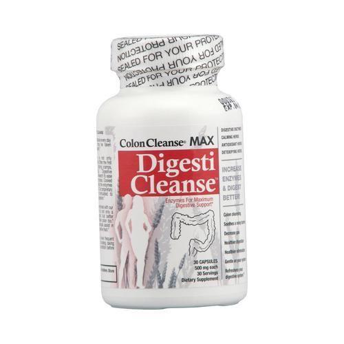 Health Plus Colon Cleanse Max Digesti Cleanse 500 Mg (1x30 Capsules)