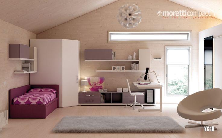 #camerette Moretti Compact - #madeinitaly #design #salerno #arredamento #casa #dreamhouse