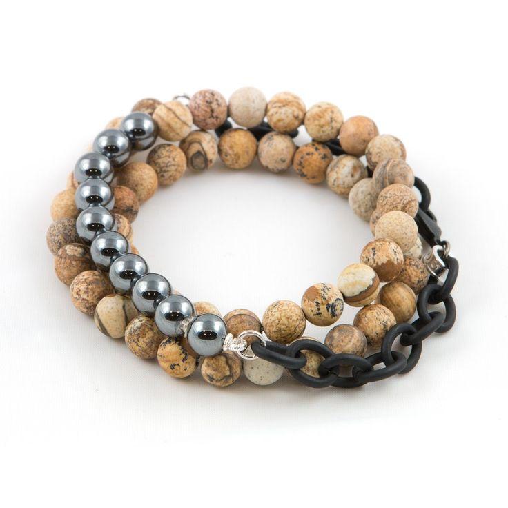 Men's Hematite Counting Beads