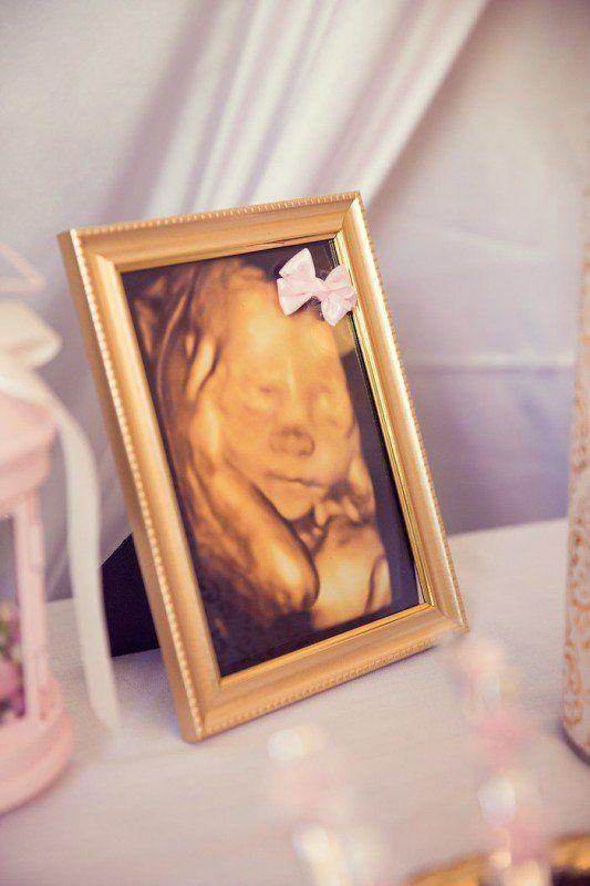 Baby Shower en dorado y rosa para una niña ¡Elegancia y delicadeza en detalles! | i24Web