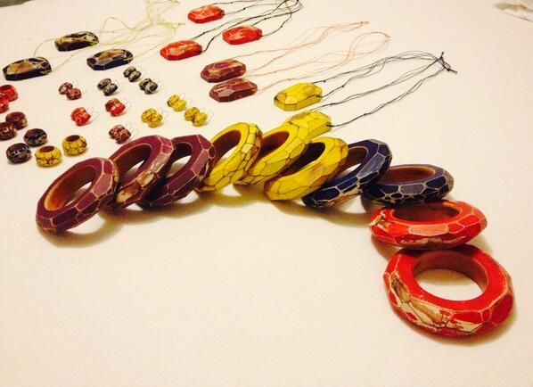 Cristina Zani jewellery inspired by colours of Matisse - designed for the Tate Modern shop