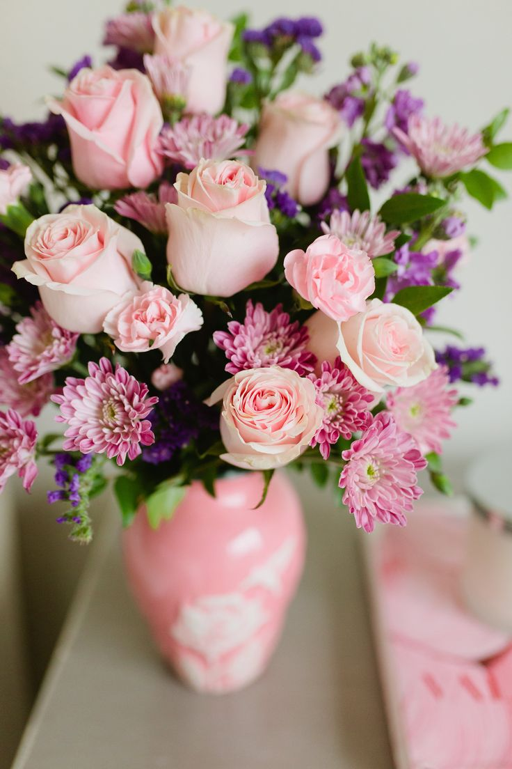 89 best mothers day flowers gifts images on pinterest floral the perfect pink mothers day flowers for mom flowers by teleflora styled by negle Choice Image